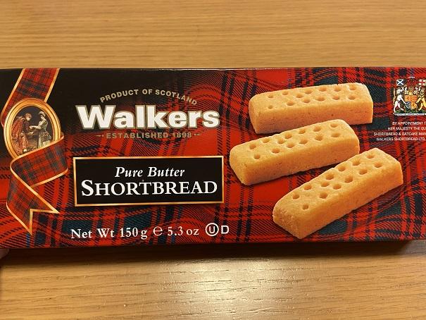 【KALDI】ウォーカーショートブレッド☆バターたっぷり危険な美味しさ♪