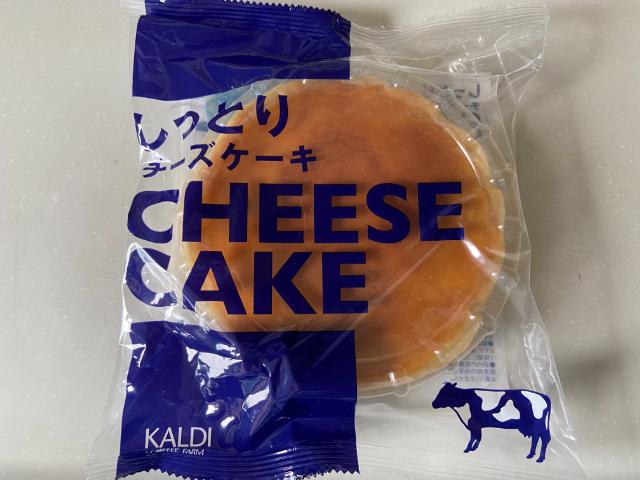 【KALDI】しっとりチーズケーキ☆コスパが良いホールサイズ!トッピング次第で華やかに♪